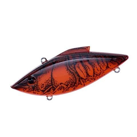 Rat-L-Trap Lures 3/4-Ounce Mag Trap (Red Crawfish) - Mag Trap