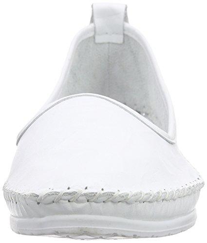 Andrea Conti 0027449 Damen Slipper Weiß (Weiß 001)