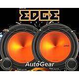"Edge Audio ED306 6.5"" 165mm 240w 240 Watts Car Door Component Speakers Set - Pair"