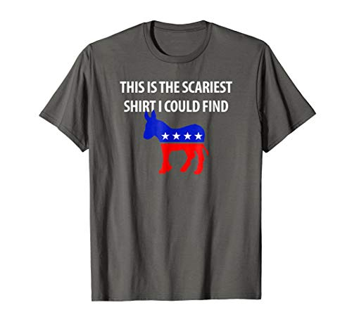Scariest Halloween Costume Republican Conservative T-Shirt -
