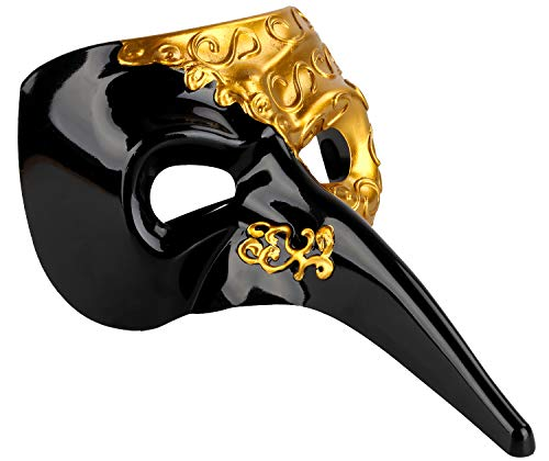 Venetian Masquerade Mask Drama Ball Long Nose Mask Joker Party Mask -