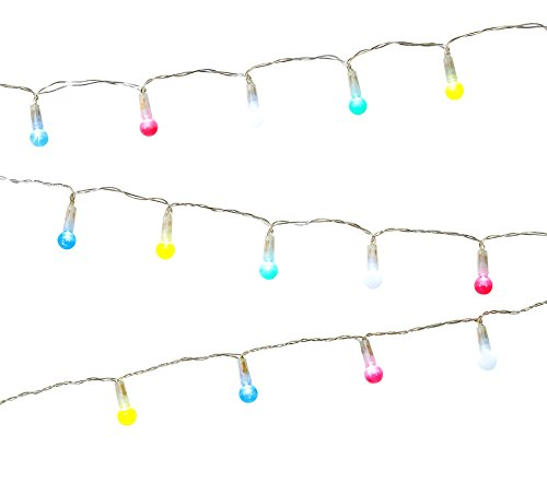 Talking Tables LED String Lights | Pastel Bulb Fairy Lights | Great For Party Décor Or Room - Talking Pastel