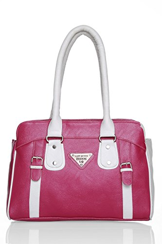 LADY QUEEN Women #39;s Shoulder Bag  LD 329_Pink