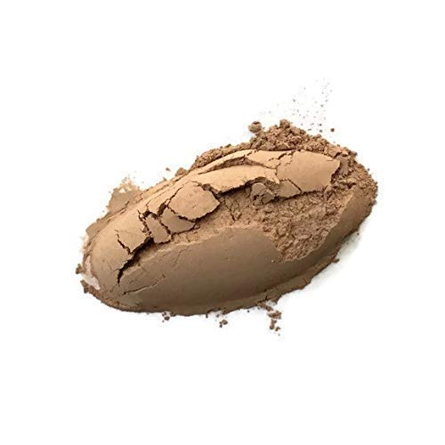 Earth Neutral Warm Medium Vegan Mineral Foundation (Medium Caramel Finish)