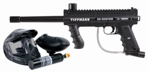 (Tippmann 98 Custom Platinum Series .68 Caliber Paintball Marker with ACT PowerPack Kit)