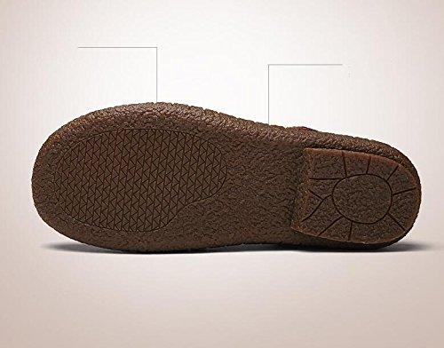 da Casual da Uomo Scarpe Sandali Scarpe Pelle Lavoro in da pap Traspiranti Koyi da Estraibili Scarpe Uomo 5wvTff