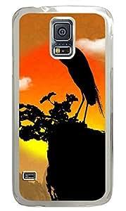 Samsung Galaxy S5 Crane PC Custom Samsung Galaxy S5 Case Cover Transparent