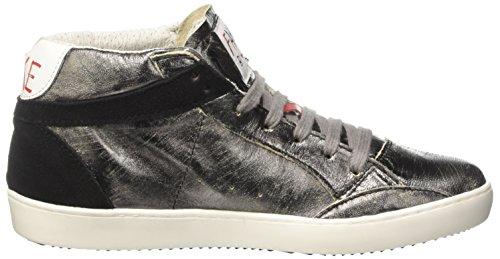 Piombo Adulto Alto Nero – A Chiodo laminato By Unisex Mid Nero Fake Sneaker crosta Collo 098 a1HOxq0vnw