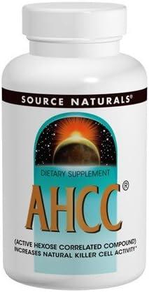 SOURCE NATURALS Bonus AHCC 500mg Vegetarian Caps 30 30c 0 Cap