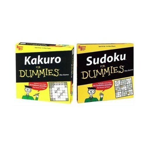 Sudoku/Kakuro for Dummies 2-pack