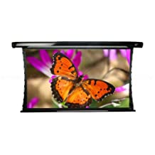 Elite Screens CineTension2, 85-inch 2.35:1, Tab-Tensioned Electric Drop Down Projection Projector Screen, TE85C-E30