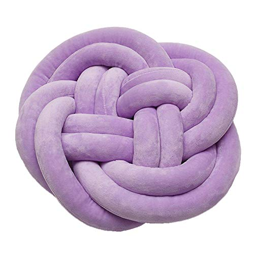 Knot Ball Cushion Pillow Baby Calm Sleep Dolls Stuffed Toys for Car Decorative Baby Soft Plush Creative,5