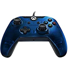 PDP Deluxe Wired Controller for Xbox One, S, Xbox One X and Windows - Blue, 048-129 - Xbox One