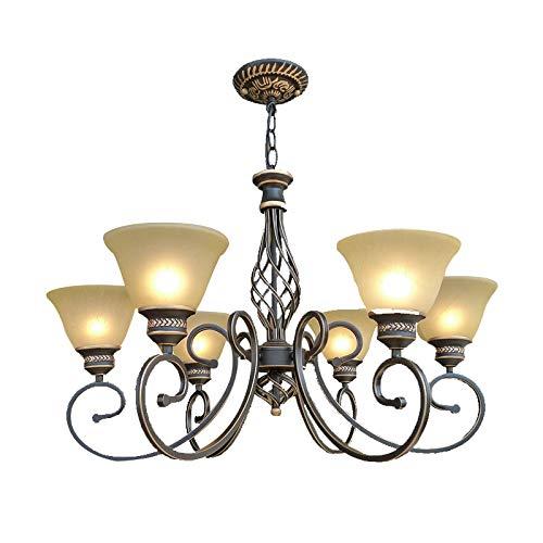 Windsor Home Deco WH-63624-6 Pendant Lamp, 6-Light Pendant Chandelier, Pendant Light Fixture