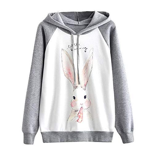 Hoodie Sweatshirt MITIY Casual Print Cat Long Sleeve Hooded Pullover Jumper Tops ()