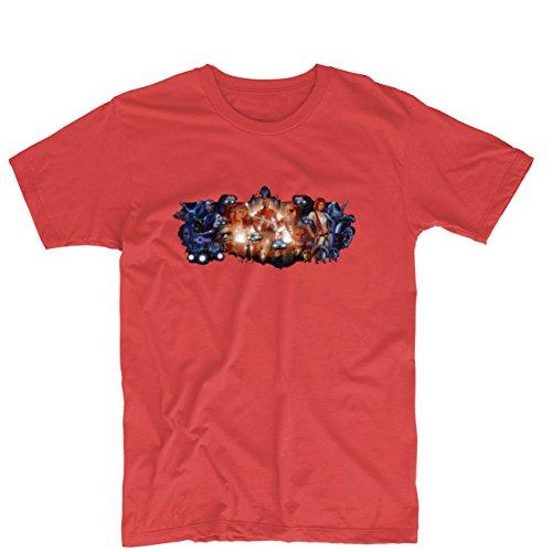 The Fifth Element Leeloo Korben Dallas Unisex Printing T Shirt Custom Tee (Leeloo 5th Element)