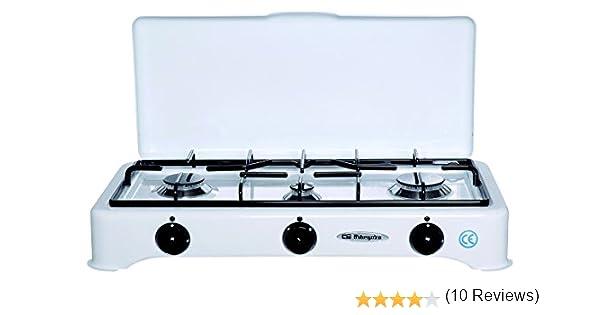 Orbegozo FO 5327 C/GP - Hornillo de 3 fuegos: Amazon.es: Grandes electrodomésticos