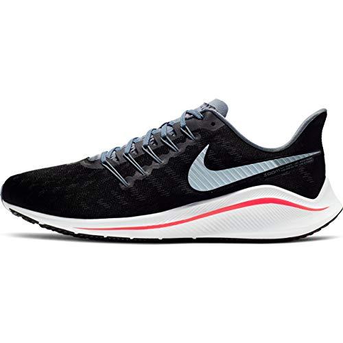 Nike Men's Air Zoom Vomero 14 Running Shoe Black/Bright Crimson/Armory Blue Size 9.5 M US ()
