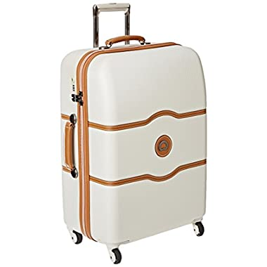 Delsey Luggage Chatelet 24 Inch Spinner Trolley, Champagne, One Size