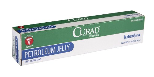 One Oz Tube (Medline CUR005331 Curad Petroleum Jelly Skin Protectant, 1 oz Tube (Pack of 12))