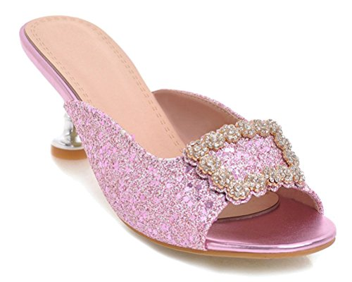 Rose HiTime HiTime Mules Femme Femme Mules HiTime Femme HiTime Rose Mules Rose Femme Mules qwfXFwA1t