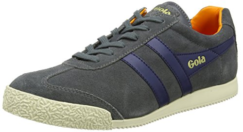 Graphite Harrier Gola Navy Men's Orange Fashion Sneaker qUwfHZw