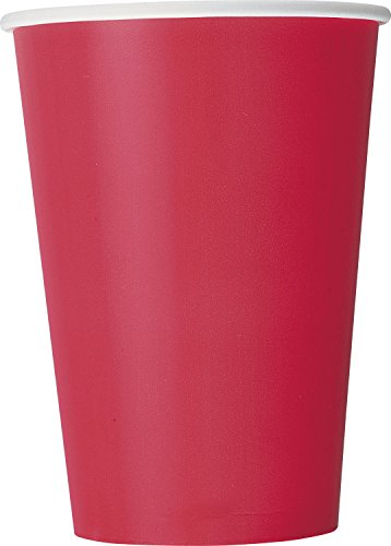 12oz Red Paper Cups, 10ct