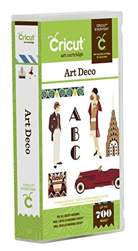 Cricut Art Deco Card Making Cartridge -