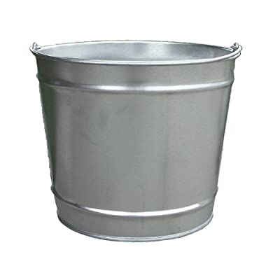 Witt Industries W10100 10 Quart Industrial Pail, 10 Quart, Galvanized: Industrial & Scientific