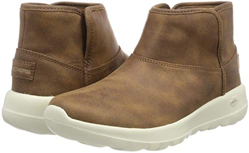 the Mujer On harvest go chesnut Marrón Botines Skechers Para Csnt 1d5gYxnw