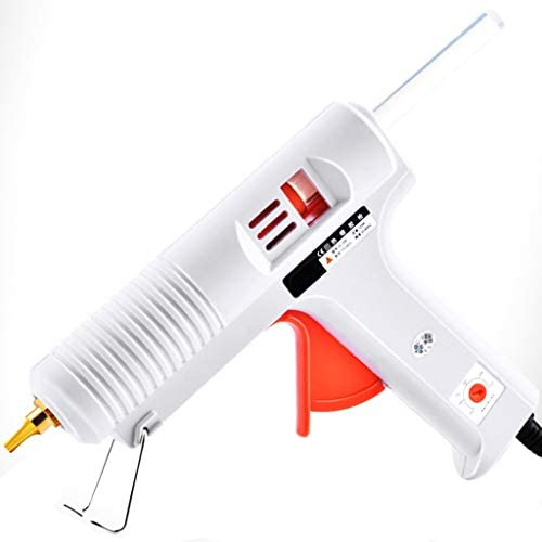 CHenXin- スティックのり、銅グルー口へ、DIYに適した、高速家の修理、手作り、白でホットメルト接着ガン、150W産業サーモスタットホットグルーガン、 ホットグルーガン (Color : C)