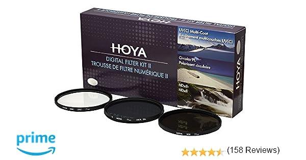 Hoya 58mm Filtro UV HMC protector de lente de cámara Filtros se adapta a Nikon Canon y más Reino Unido