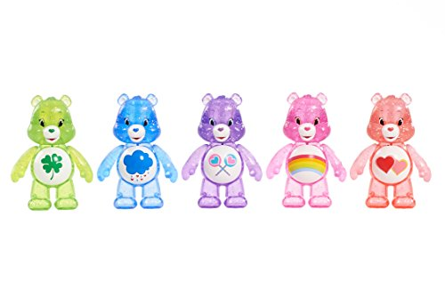 Just Play Care Bears Glitter Fun Figure Set (5 ()