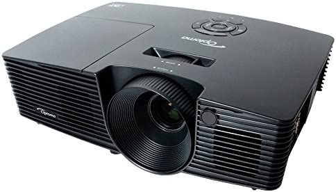 Optoma DS335 - Proyector (3000 lumens, SVGA, HDMI, 3D), color negro