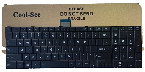 Replacement Laptop Keyboard For Toshiba Satellite C55-A5100 C55-A5105 C55-A5172 C55-A5180 C55-A5182 C55-A5190 C55-A5281 C55-A5282 C55-A5249 C55-A5300 C55-A5302 C55-A5308 C55-A5310 C55-A5384 C55-A5386 C55T-A5123 C55T-A5222 C55D-5281 C55-A5285 C55-A5286 C55t-A5287 C55T-A5378 C55t-A5102 C55T-A5103 C55T-A5218 C55T-A5123 C55D-A5304 C55D-A5120 C55D-A5372 C55D-A5108 C55D-A5163 C55D-A5170 C55D-A5150 C55D-A5206 C55D-A5240 C55D-A5380 C55D-A5381 C55D-A5382 C55D-A5344 C55D-5372 , US layout Black color
