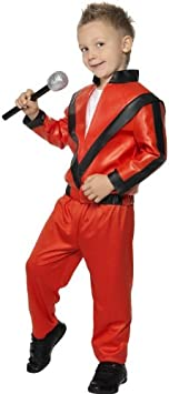 Smiffys - Disfraz infantil de Michael Jackson en Thriller: Amazon ...