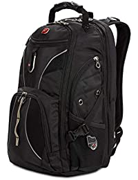 SA1923 Black TSA Friendly ScanSmart Laptop Backpack - Fits Most 15 Inch Laptops and Tablets