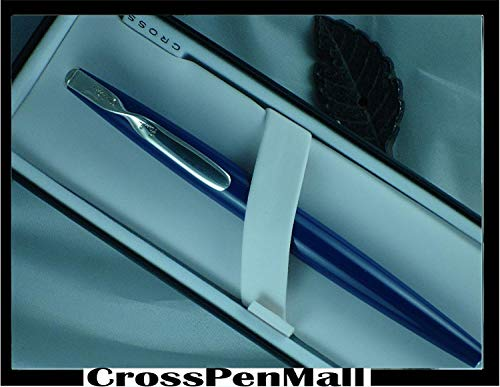 Sterling Silver Roller Pen - Cross Blue Lacquer Paul Smith with Sterling Silver appointment Rollerball Pen Blue