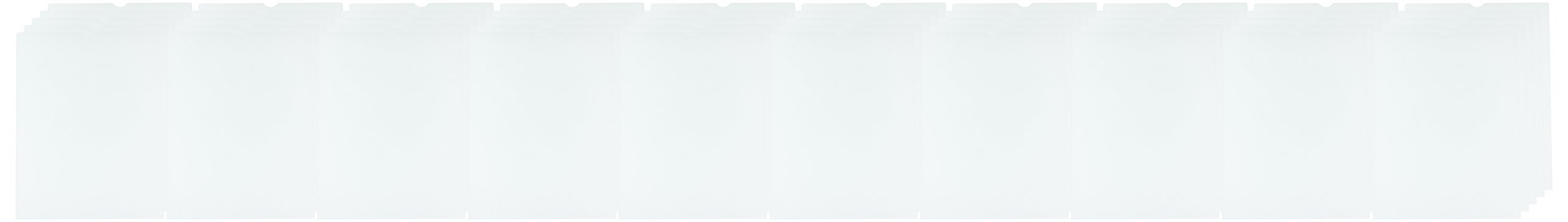 Anglers ANGLER'S Heavy Crystal Clear Poly Envelopes (ANG146850)