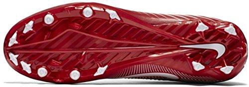 Nike Herren Vapor Speed Low TD geformte Fußballschuh Universität Rot / Weiß-total Crimson-schwarz