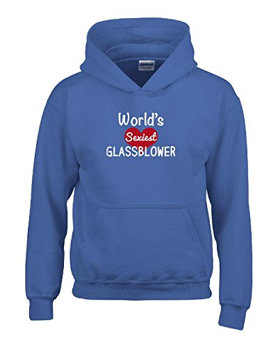 World's Sexiest Glassblower - Adult Hoodie L - Glasses Sexiest Men For