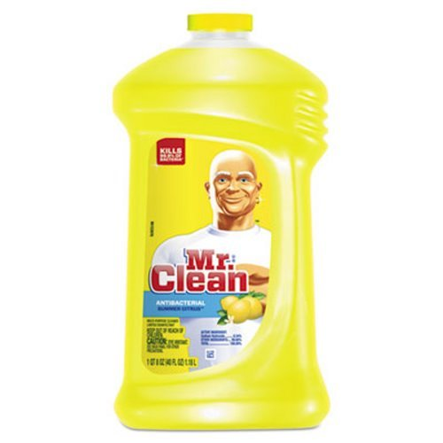 Mr. Clean 31502 40-Ounce Antibacterial All-Purpose Cleaner (9 per (Antibacterial Multi Purpose Cleaner)