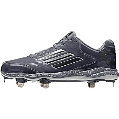 adidas Men's PowerAlley 2 Low Metal Baseball Cleats