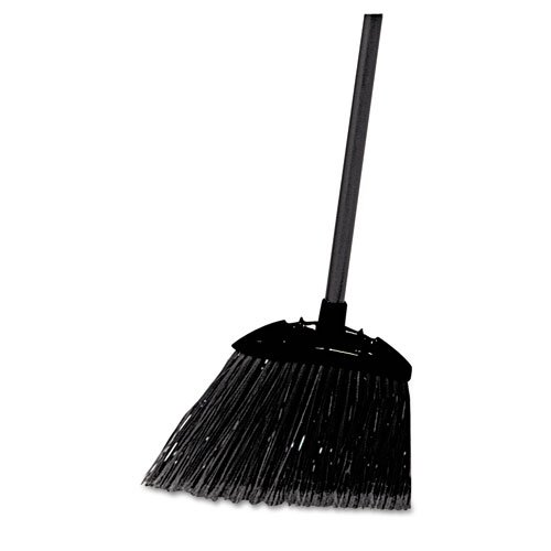 Bristle Lobby Broom - Rubbermaid 33-Inch Lobby Broom with Handle, Brown # 637400