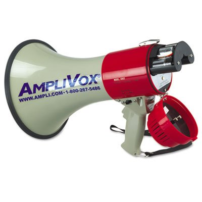 MityMeg Piezo Dynamic Megaphone, 25W, 1 Mile Range, Sold as 2 Each by Amplivox (Image #2)