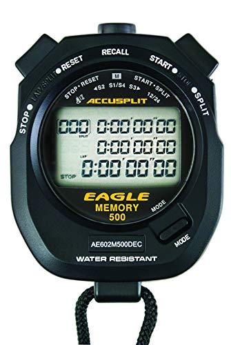 ACCUSPLIT Multi-Mode 500 Memory Advanced Timing Stopwatch