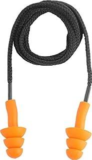 Protetor Auditivo Tipo Plug, De Silicone, Com Cordão Em Algodão, Vonder Vdo2495 Vonder