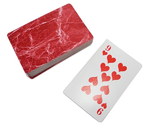 Kling Magnetic Playing Cards - Single Deck - Red by Kling Magnetics