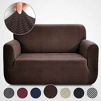 Enjoyable Amazon Com Surefit Cotton Duck Loveseat Slipcover Machost Co Dining Chair Design Ideas Machostcouk