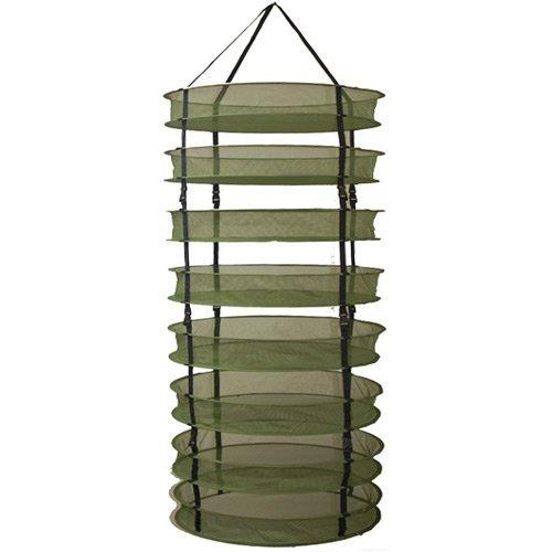 8 layers 60cm Diameter Garden Folding Adjustable Drying Rack